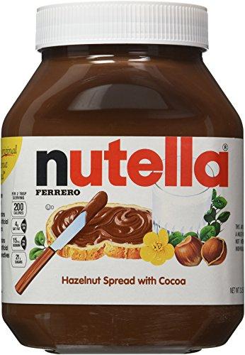 Nutella Hazelnut Spread, 33.5 oz each, 2 Count