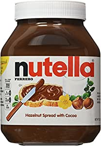 Nutella Hazelnut Spread, 33.5 oz each, 2 Count