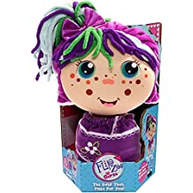 Flip Zee Girls (Zara Happy Flower) 2-in-1 Plush Doll by Jay at Play – Perfect Gift – Soft & Squeezable Toy Instantly Switches from 12in Baby to 18in Big Girl Surprise