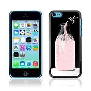 Designer Depo Hard Protection Case for Apple iPhone 5C / Cool Milk Octopus