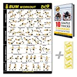 Eazy How To Butt Workout Exercise Banner Poster