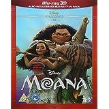 Moana 3D BD [Blu-ray] [Region Free]