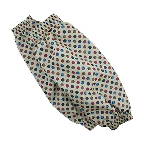 HAND Sleeve Protectors with Pretty Polka Dot Pattern - Pack of 2 Pairs