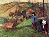 Gauguin Paul Little Breton Shepherd 100% Hand Painted Oil Paintings Reproductions 12X16 Inch