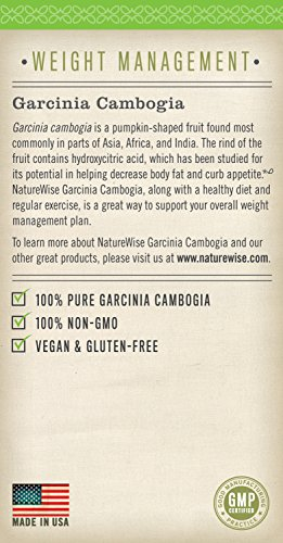NatureWise-Pure-Garcinia-Cambogia100-Natural-HCA-Extract-Supports-Weight-Loss-and-Curbs-Appetite-Superior-Absorption90-count