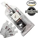 MonTien Wine Bottle Protector - Wine Sleeves Pack In Travel Luggage & Suitcase -Portable & Reusable Bags - Inner Skin With Tough Leak Proof Outside - Pack of 4
