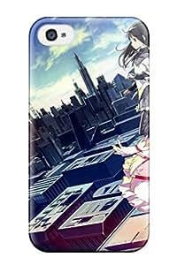 Shilo Cray Joseph's Shop kara no kyoukai cityscapes multi s knives Anime Pop Culture Hard Plastic iPhone 4/4s cases