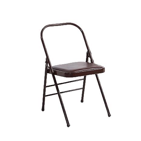 Amazon.com: Silla de yoga plegable para el hogar/taburete ...