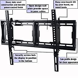 VideoSecu Mounts Tilt TV Wall Mount Bracket for Most 23\