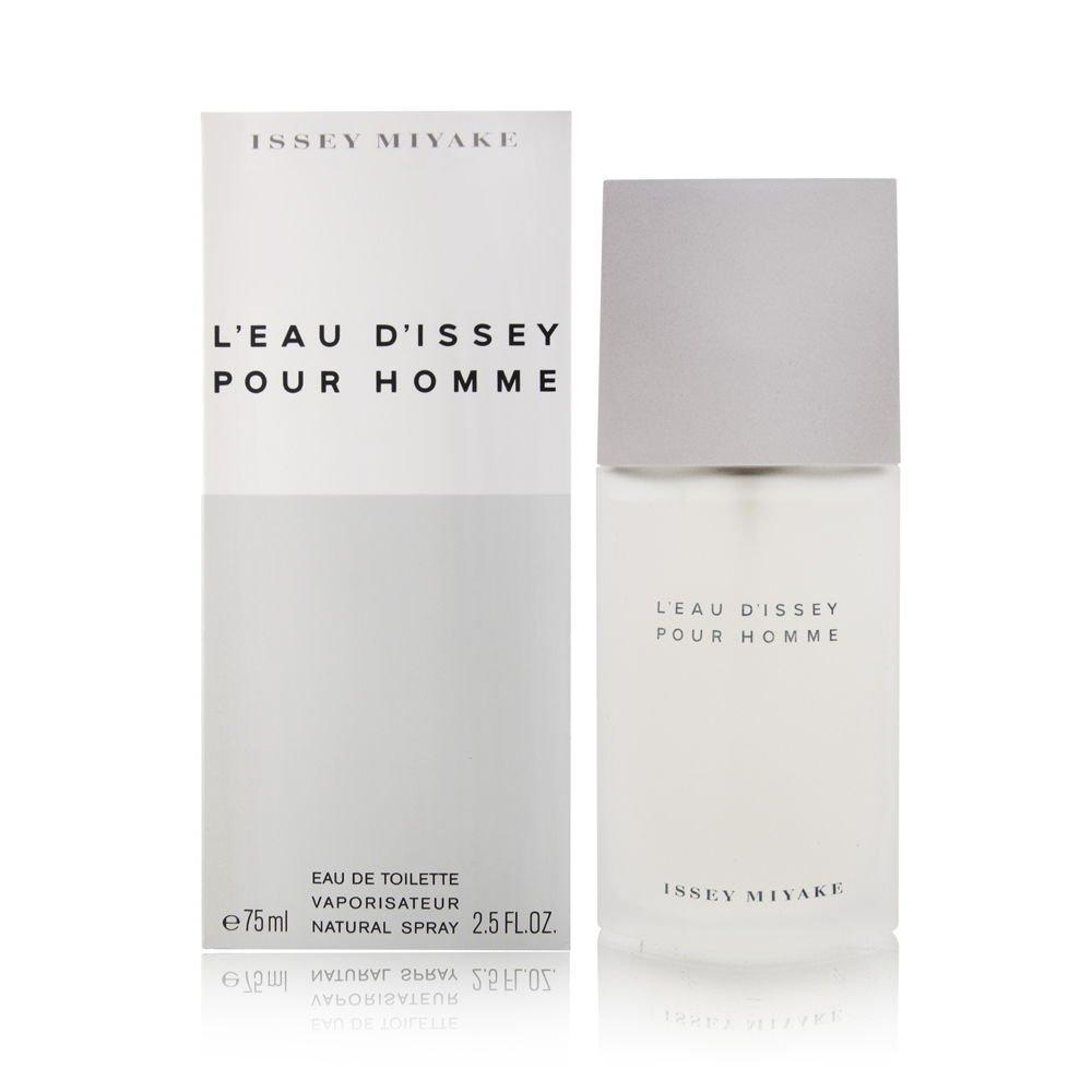 5f97b893c1 Amazon.com : L'eau d'Issey Pour Homme by Issey Miyake 2.5 oz Eau de ...