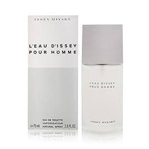 L'eau d'Issey Pour Homme by Issey Miyake 2.5 oz Eau de Toilette Spray