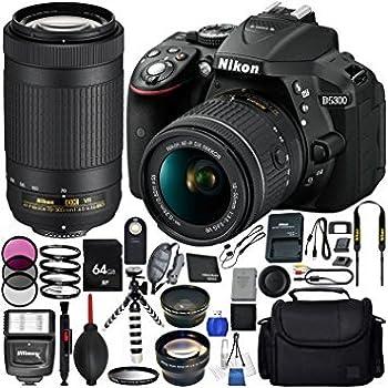 Amazon.com: Paquete D5300: Camera & Photo