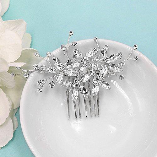 Adelynn Handwired Swarovski Crystal Wedding Comb