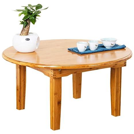 Folding table tu Mesita Mesita Mesita Baja de bambú Pliegue ...
