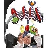 BeeSpring Kid Baby Crib Cot Pram Hanging Rattles Spiral...