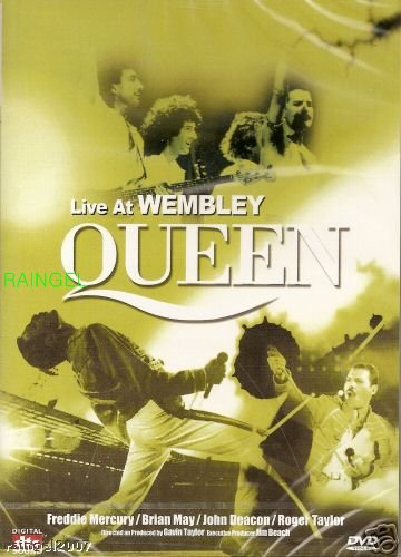 Queen - Live At Wembley Stadium (Import, All Regions ...