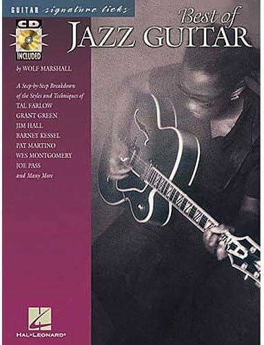 Guitar Signature Licks: Best Of Jazz Guitar. Partituras, CD para ...