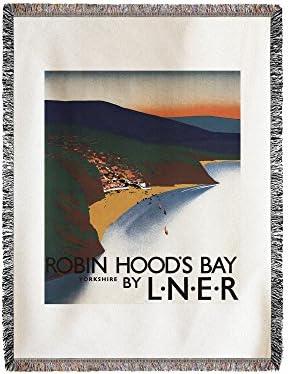 Antena View de bahía y acantilados Póster de ferrocarril (60 ...