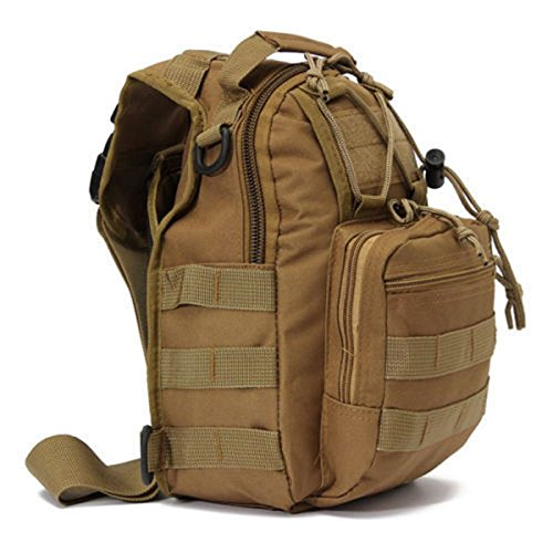 JD Million shop Men Zip Chest Packs Trekking Bag Jungle Travel Camouflage Military Nylon
