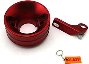 XLJOY Red Air Filter Adapter Stack for 6.5 HP Honda Clone GX160 GX200 Engine Go Kart