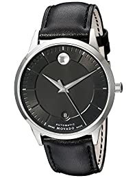 Movado Men's 0606873 Analog Display Swiss Automatic Black Watch