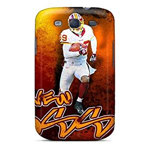 Slim Fit Tpu Protector Shock Absorbent Bumper Washington Redskins Case For Galaxy S3