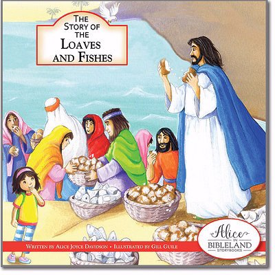 Biography of author alice joyce davidson booking for Loaves and fishes bible story