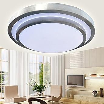 Home Improvement, LED Deckenleuchte, runde Schlafzimmer Lampe ...