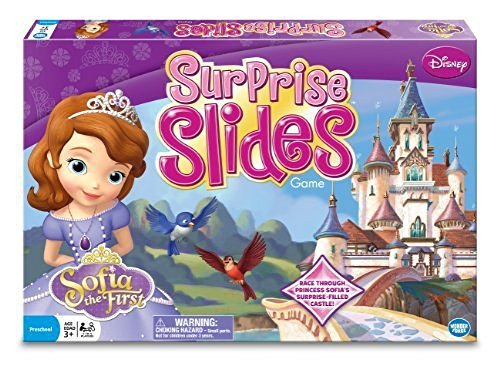Princess Sofia Surprise Slides Board Game by Wonder Forge by The Wonder Forge