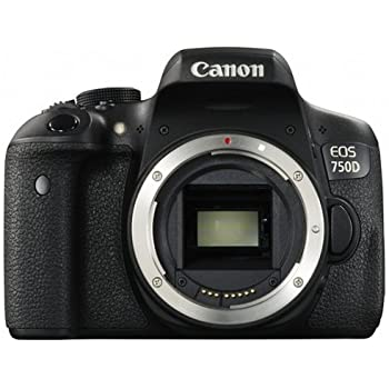 Canon EOS 750D Digital SLR Camera - International Version (No Warranty)