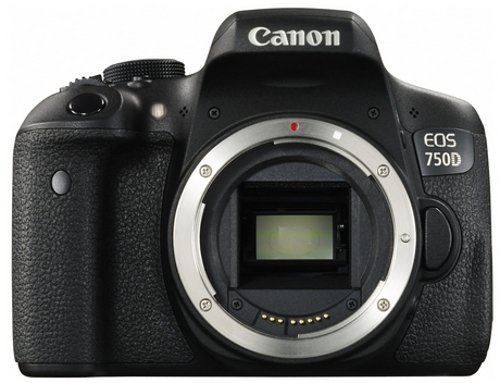 Canon EOS 750D Digital SLR Camera - International Version (No Warranty) by Canon