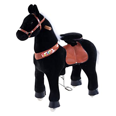 Smart Gear Pony Cycle Black Stallion Riding Toy : World's First Simulated Riding Toy for kids Age 3-5 Years Ponycycle ride-on small