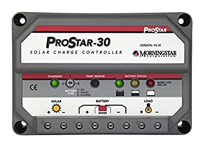 Best Cheap Deal for MorningStar ProStar PS-30 PWM Solar Charge Controller, 30 Amp 12/24 Volts from MorningStar - Free 2 Day Shipping Available