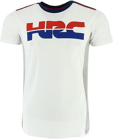 HONDA HRC Moto GP Team Large Logo Blanco Camiseta Oficial 2018: Amazon.es: Ropa y accesorios