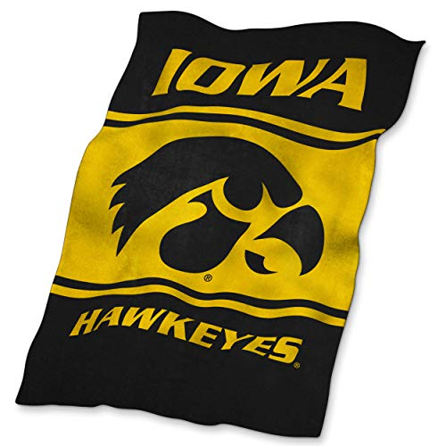 NCAA Iowa Ultrasoft Blanket ()