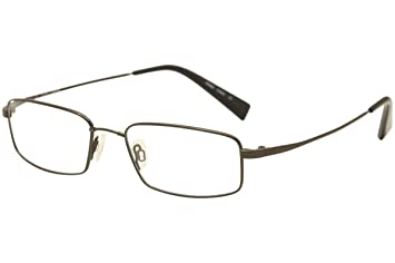 c90ec48ac8 Flexon Men s Eyeglasses Memory Metal Titanium Black Chrome Reading Glasses  +2.00