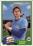 #4: 1981 Topps Traded Baseball Rookie Card #727 Danny Ainge Near Mint/Mint