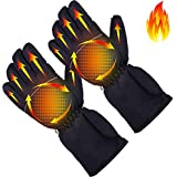 Missblue Heated Gloves Electric Battery Powered Hand Warmer,Thermal Insulated Touchscreen Heating Gloves