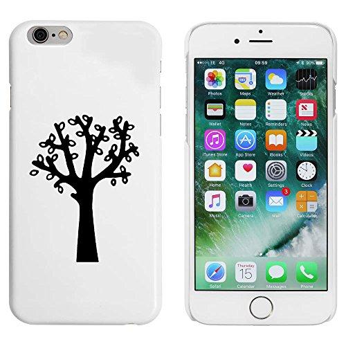 Blanc 'Feuillu Arbre' étui / housse pour iPhone 6 & 6s (MC00086821)
