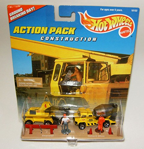 Hot Wheels Construction Action Pack -- ()