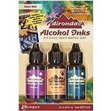 Ranger Adirondack Alcohol Ink .5 Ounce 3/Pkg-Nature Walk-Wild Plum/Buttrscotch/Stream