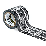 PlayTape Classic Railroad Track - Instantly Create your Own Railroad Tracks Anytime, Anywhere - For All Kids Who Love Cars & Trains - Perfect for Birthday Gifts & Endless Fun (Railroad 30'x2