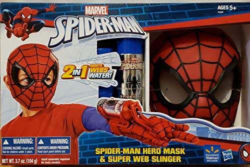 Marvel Spider-Man Hero Mask & Super Web -