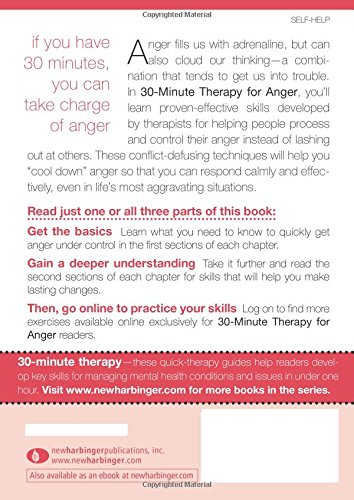 Thirty-Minute Therapy for Anger: Everything You Need To Know in ...