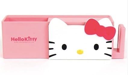 Hello Kitty cepillo de dientes pasta de dientes Copa Accesorios de baño organizador con ventosa,