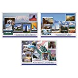Hoffmaster 702087 National Pride Multipack Placemats, 3 Designs per Case, 10'' x 14'', Printed (Pack of 1000)