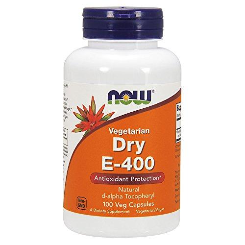 NOW Vitamin E-400 Dry,100 Capsules