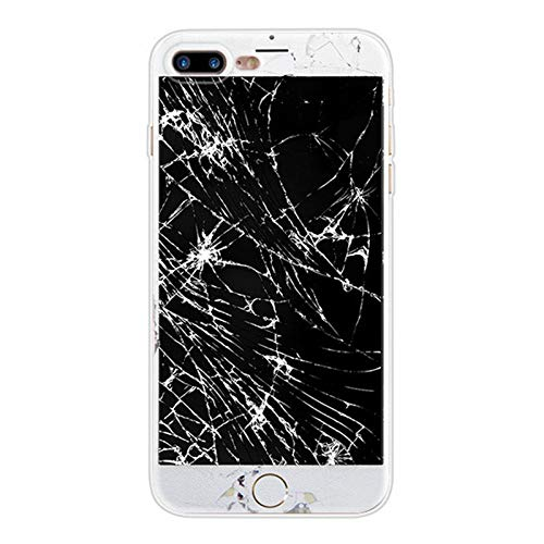 Soft Silicone Clear TPU Case Cover for iPhone 6 6S 7 8 Plus 5s SE X Xs Max Xr Beer Drink Nokia Phone Battery Broken Screen Coque 10 for iPhone 8 Plus -  Asawoene, sethpc509-32