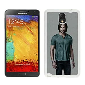 jared padalecki supernatural White Samsung Note 3 Case,personalized design together with Excellent protection