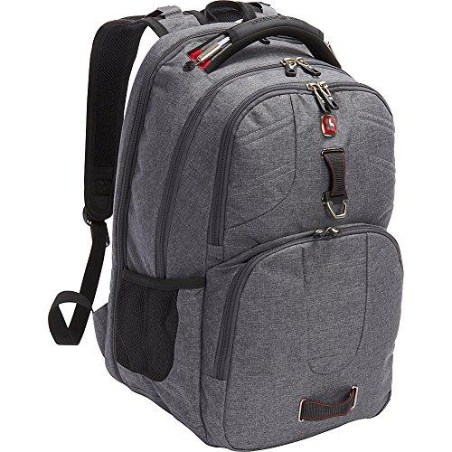 SwissGear Travel Gear Scansmart Backpack 5903 - Exclusive (Heather Grey/Red)